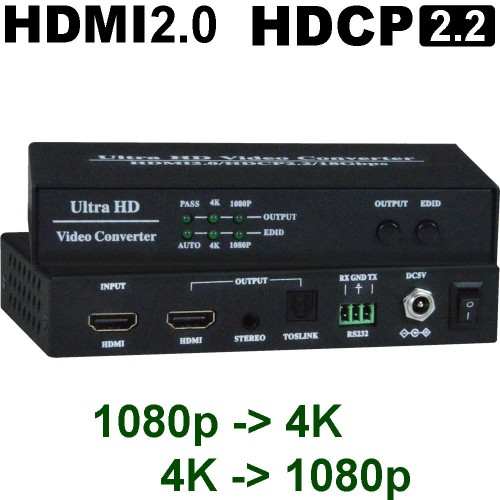 4K/UHD-Up/Downscaler